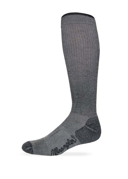 9392: Fine Gauge Wool Blend Tall Boot Sock