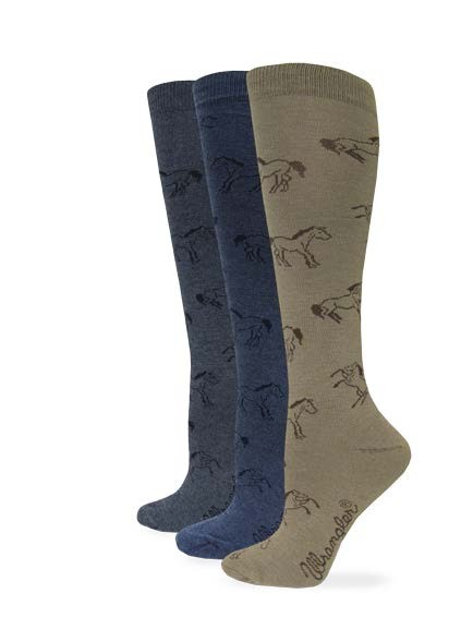9413: Ladies Horse Boot Sock
