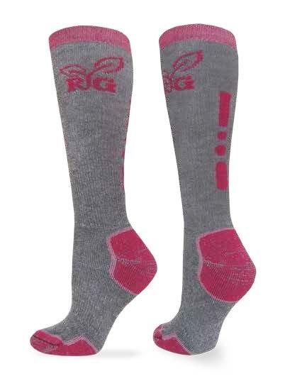 9724: Wool Blend Tall Boot Sock