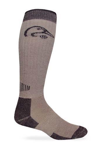9996: All Season Tall Merino Wool Boot Sock