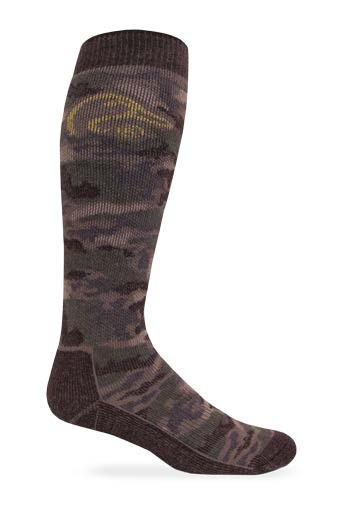 9999: Tall Merino Wool Camo Boot Sock