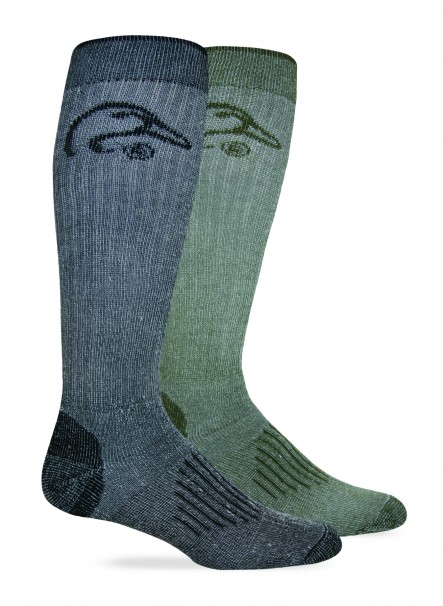 2/167: Full Cushion Wool Blend Tall Boot Sock