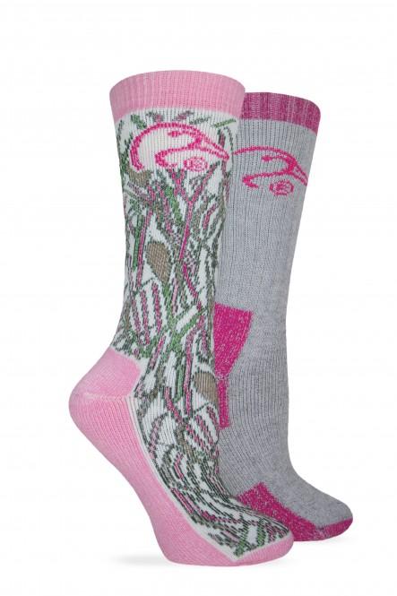 2/452/184: Ladies Wool Blend Boot Sock