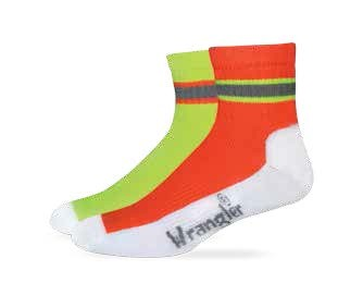 2/492: High-Vis Work Quarter Sock
