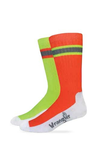 2/494: High-Vis Work Crew Sock
