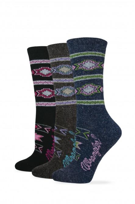 750: Ladies Aztec Crew Sock