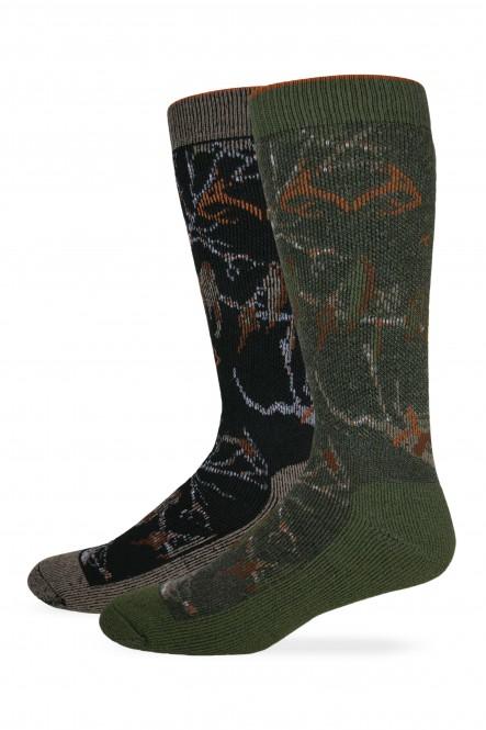 772: Men's Camo Sock