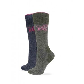 9671: Heavy Wool Blend Boot Sock