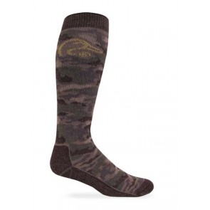 9999: Tall Merino Wool Camo Boot Sock