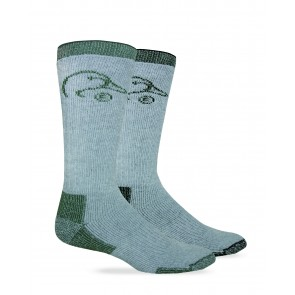 2/174: Full Cushion Wool Blend Boot Sock