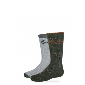 2/772/578: Boy's Camo Boot Sock