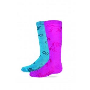 2/9536: Girl's Boot Sock