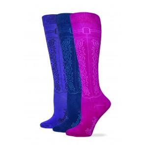 3/229: Cowgirl Boot Sock