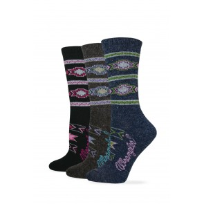 750: Ladies Aztec Crew Sock